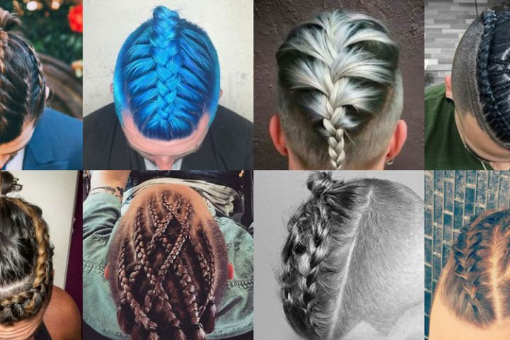 Famous braid hairstyle for men- Man braid