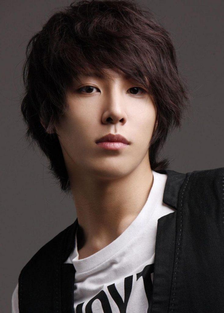 Long Korean hairstyle