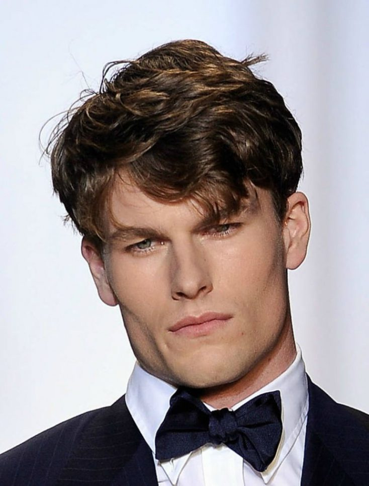 Masculine hairstyles