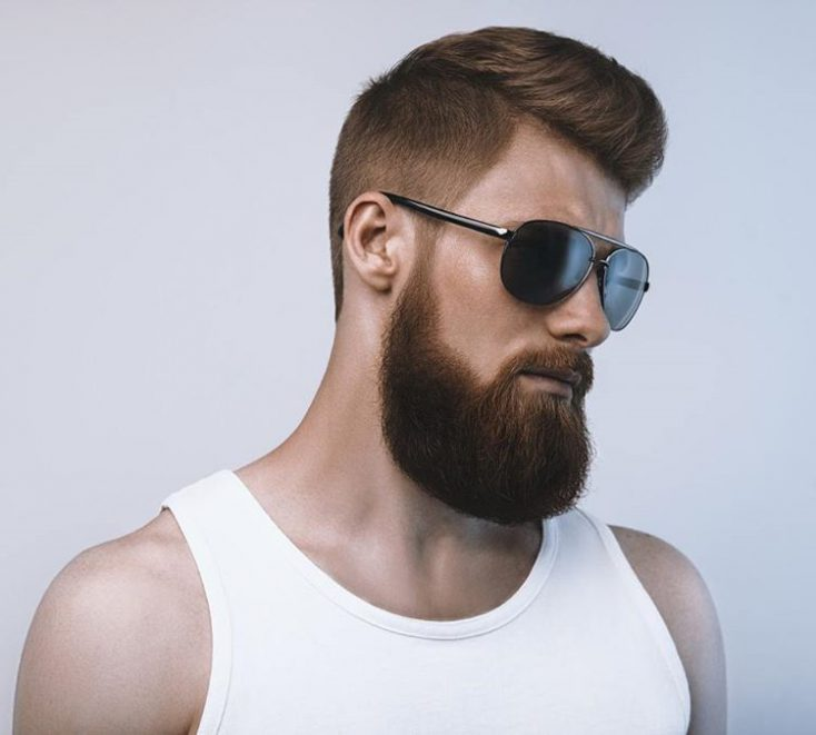 Stand out with afro hairstyle for men with undercut