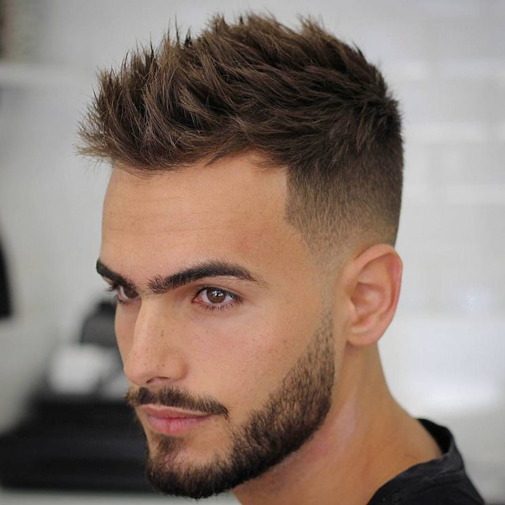 Top hot trend hairstyle for men over 40